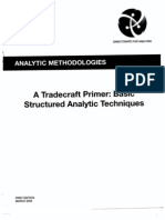 Defense Intelligence Agency Tradecraft Primer for Intelligence Analysts