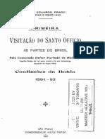 Primeira visitação do Santo officio as partes do Brasil - Heitor Furtado de MENDOÇA