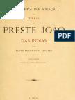 Preste João das Indias - Francisco ALVARES