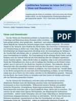 Grundlagen Des Politischen Systems Im Islam Teil 2 Von 2