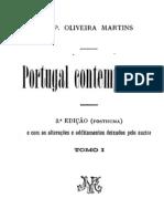 Portugal Contemporaneo, vol. 1 - Oliveira Martins
