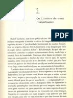 Pedro M. Frade (1992), 'Os limites de uma perturbação'