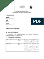 informe vacio evalúa 4 RESUMEN RESULTADOS
