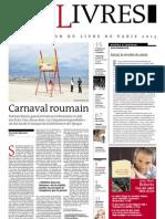Supplément Le Monde des livres 2013.03.22