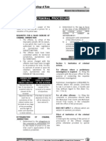 Criminal Procedure - Memory Aide (San Beda)