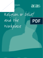 ACAS Religion or Belief and the Workplace