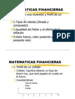 Matematica Financiera Diapositivas PDF