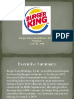 Burger King Case Study