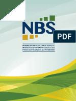 Cartilha NBS - Nomenclatura Brasileira de Serviços