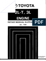 Toyota Motor Manual 2L3L