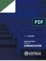 Planes de Estudio Comunicacion