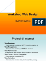 Workshop Web Design