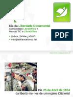 Dia da Liberdade Documental (Comunidade LibreOffice Portugal)