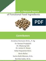 Hemp Seed, a Natural Source of Functional Food Ingredients
