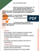 Psych Motivation & Emotions