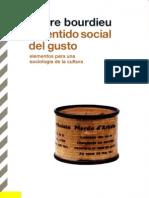 Pierre Bourdieu - El sentido social del gusto. Elementos para una sociología de la cultura.pdf