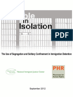 Invisible in Isolation-The Use of Segregation and Solitary Confinement in Immigration Detention.september 2012_7