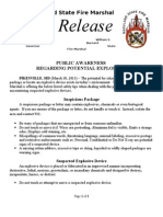 2013-03-18 Statewide Explosives Awareness