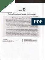 Cap.25 - Ácidos Nucléicos e Síntese de Proteínas