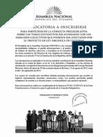 Ley de Culturas Consulta Prelegislativa (1)