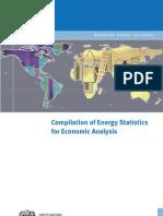 WP 01 Compilation of Energy Statistics for Economic Analysis