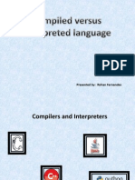 Compilers Versus Interpreters.ppt