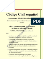 Codigo Civil Espanol