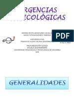 URGENCIAS TOXICOLÓGICAS