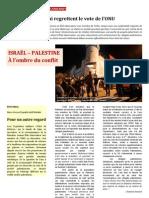 Israël - Palestine, À l'ombre du conflit