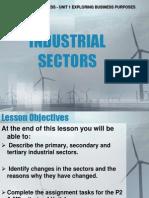 Industrial Sectors1