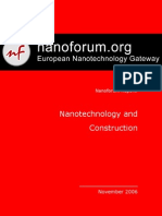 Nanotech and Construction Nanoforum Report