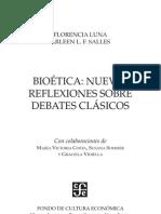 Luna & Salles - Bioetica. Nuevas Reflexiones Sobre Debates Clasicos