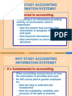 Why Study Accounting Information Systems
