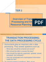 Transaction Processing and Enterprise Resource Planning Systems