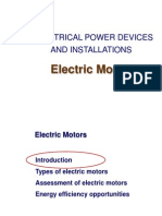 Electrical Motors EPDI2013