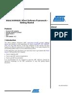 [AVR4029] Atmel Software Framework - Getting Started