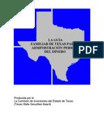 Guía Familiar para la Administración Personal del Dinero, Texas 2006