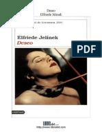 Elfriede Jelinek. Deseo