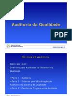 Auditoria de Qualidade - Anvisa