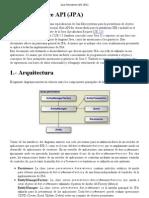 Java Persistence API (JPA