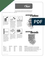 DFU Accu Flakes Beads