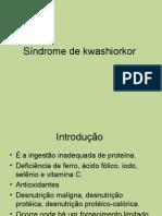 Síndrome de kwashiorkor