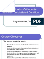 Adult Orthodontics Ppt