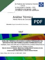 seminario análise térmica1