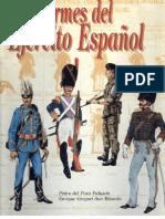 Uniformes del Ejercito Español. Pedro del Pozo Palazón