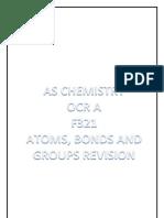 Chemistry Unit 1 Revision 1