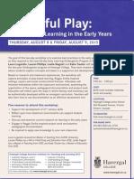 Powerful Play 2013