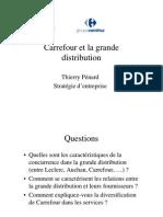 Cas Carrefour Et La Grande Distribution