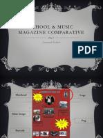 School & Music Magazine Comparative