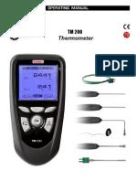 KIMO TM200 Thermometer